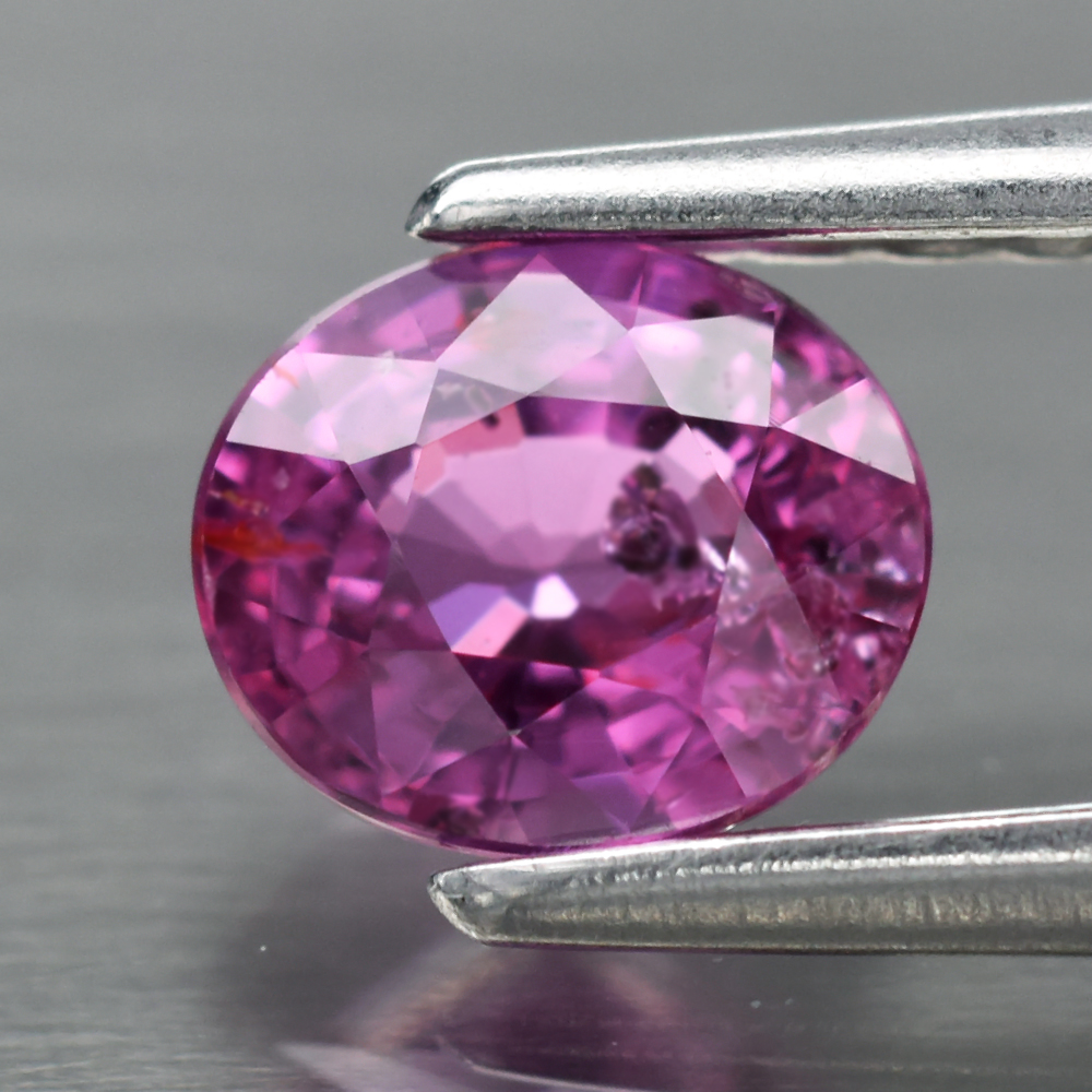Genuine 100% Natural Pink Sapphire .55ct 5.0 x 4.3mm Oval SI1 Clarity