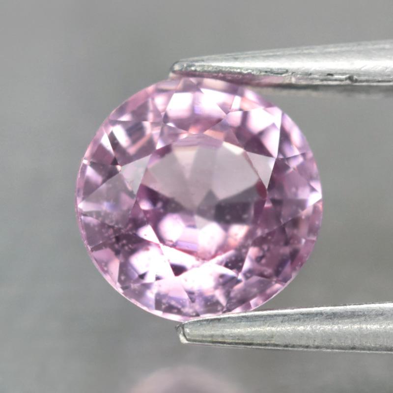 Genuine Pink Sapphire 0.62ct 5.0x5.0x3.0mm SI1 Tanzania