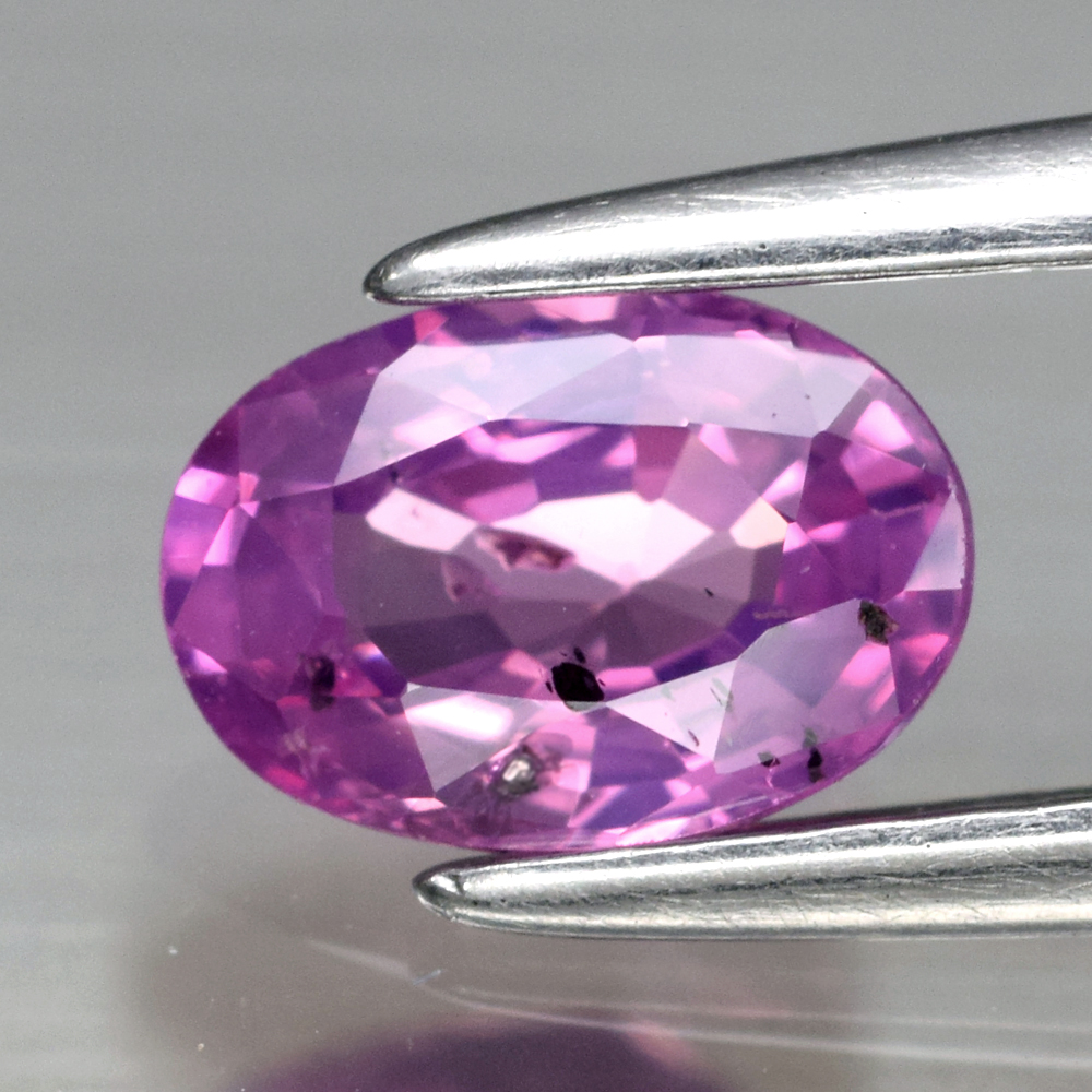 Genuine Pink Sapphire .68ct 6.2 x 4.3mm Oval SI1 Clarity