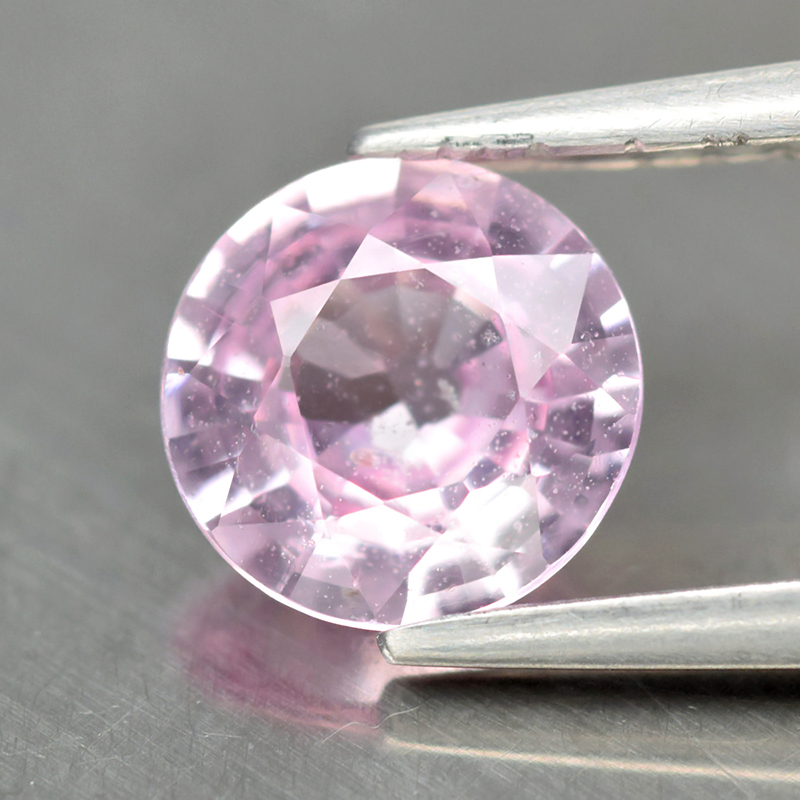Genuine 100% Natural PINK SAPPHIRE .88ct 6.0 x 6.0mm Round SI1 Clarity