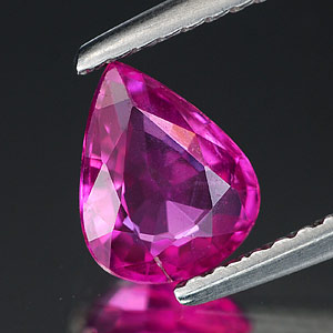 Genuine 100% Natural PINK SAPPHIRE 1.02ct 7.3 x 5.8 x 2.9mm Pear (Certified)