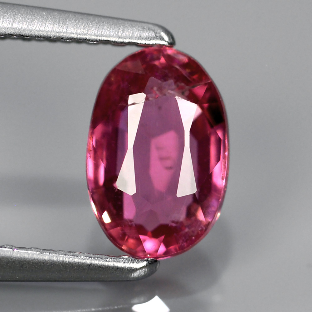 Genuine Pink Sapphire 1.02ct 7.0x4.5x3.0 SI1 Mozambique
