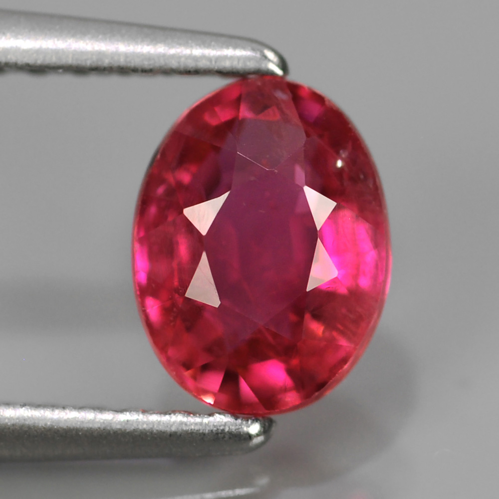 Genuine Pink Sapphire 1.01ct 7.2 x 5.2mm Oval SI Clarity
