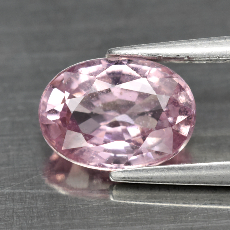 Genuine 100% Natural Pink Sapphire 1.02ct 6.7x4.8x3.1mm SI2 Madagascar