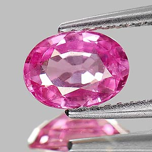Genuine Pink Sapphire 1.05ct 7.0 x 5.2mm Oval SI1 Clarity