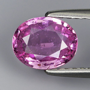 Genuine 100% Natural Pink Sapphire 1.08ct 7.3 x 5.9mm Oval SI1 Clarity