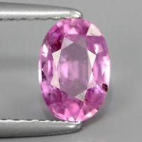 Genuine Pink Sapphire 1.11ct 7.0x4.8x3.3mm SI1 Madagascar