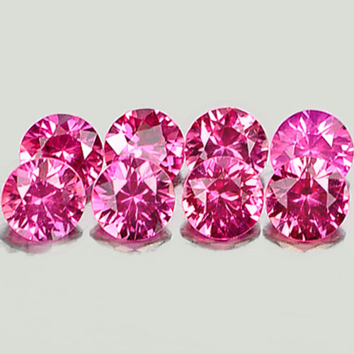 Genuine Pink Sapphire 0.16ct 3.3x3.3x2.1mm VVS Madagascar