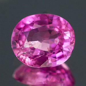 Genuine 100% Natural Pink Sapphire 1.33ct 7.1 x 6.0mm Oval SI1 Clarity