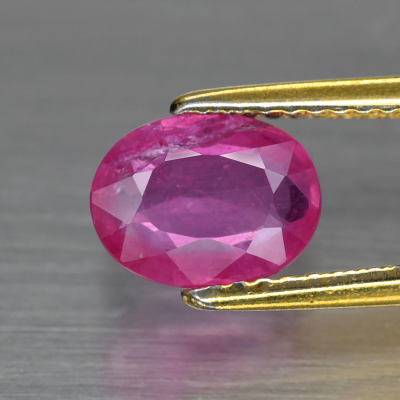 Genuine Pink Sapphire 1.41ct 8.0 x 6.0mm Oval SI1 Clarity