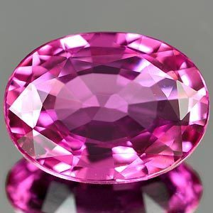 Genuine Pink Sapphire 1.42ct 8.0 x 5.9 x 3.0mm Sri-Lanka IF