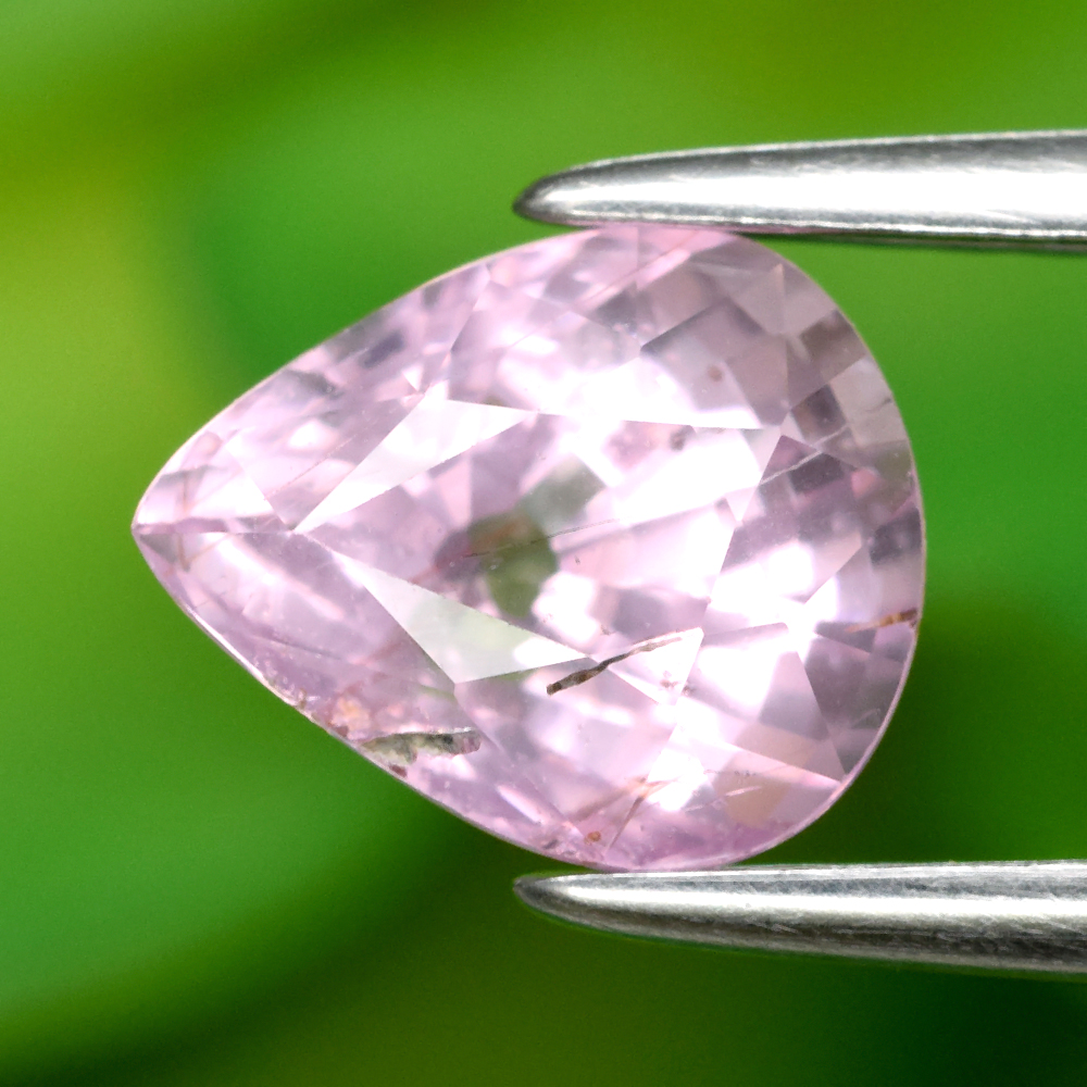 Genuine 100% Natural Pink Sapphire 1.45ct 7.0 x 6.0mm Pear SI1 Clarity