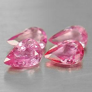 Genuine Pink Sapphire 0.38ct 5.9x4.0x2.5 VS1 Madagascar