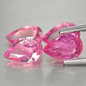 Genuine Pink Sapphire 0.40ct 5.9x4.0x2.4 VS1 Madagascar