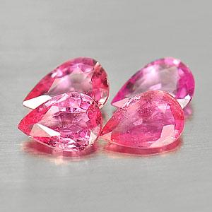Genuine Pink Sapphire 0.41ct 6.0x4.0x1.7 VS1 Madagascar