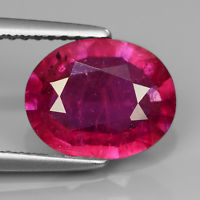 Genuine Pink Sapphire 2.54ct 10.0x8.0x3.3mm SI1 Madagascar