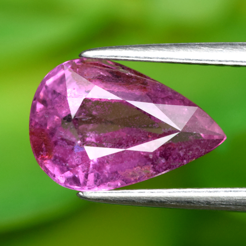 Genuine 100% Natural Pink Sapphire 2.60ct 10.4 x 7.0mm Pear SI2 Clarity