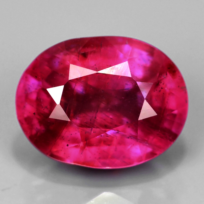 Genuine Pink Sapphire 2.61ct 8.7x6.7x4.8mm SI2 Mozambique