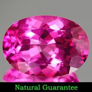 Genuine Pink Topaz 2.16ct 9.0 x 7.1 x 4.6mm Brazil IF