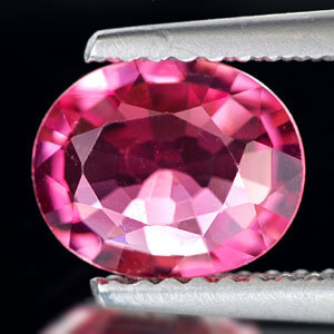 Genuine 100% Natural Pink Tourmaline 1.28ct 8.0 x 6.0 x 3.4mm VS1