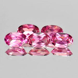 Genuine 100% Natural Pink Tourmaline 0.44ct 6.0x4.0x2.8 VS1 Nigeria