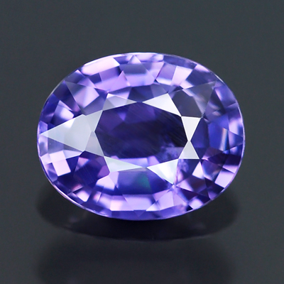 Genuine 100% Natural PURPLE SAPPHIRE .64ct 5.8 x 4.7 x 2.7mm Oval