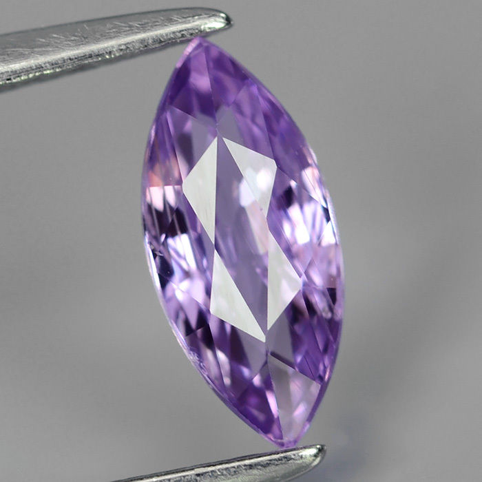 Genuine 100% Natural Purple Sapphire .77ct 8.2 x 3.7mm Marquise SI1 Clarity