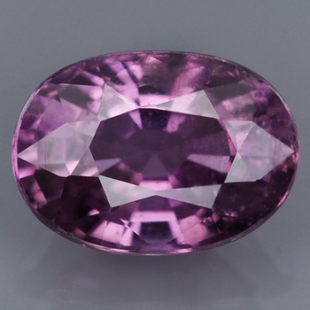 Genuine 100% Natural Purple Sapphire .87ct 6.3x4.5x3.3 SI1 Afica