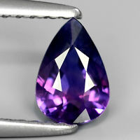 Genuine 100% Natural Violet Sapphire 0.68ct 6.5x4.7x2.8mm SI1 Madagascar