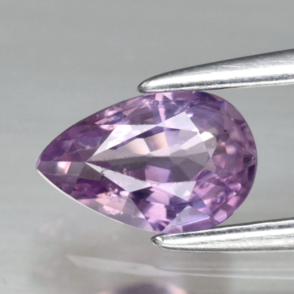 Genuine Purple Sapphire .72ct 7.0 x 4.5mm Pear SI1 Clarity