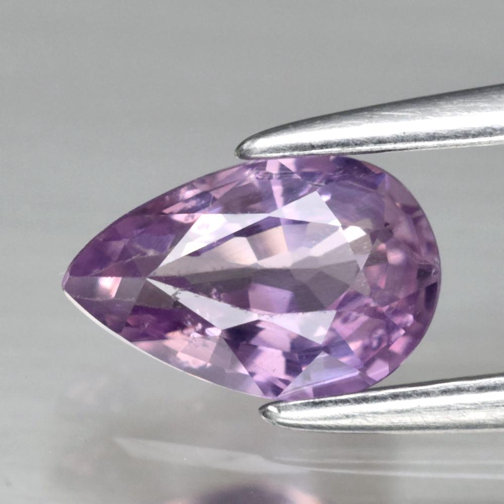 Genuine Purple Sapphire .72ct 7.0 x 4.5mm Pear SI1 Clarity