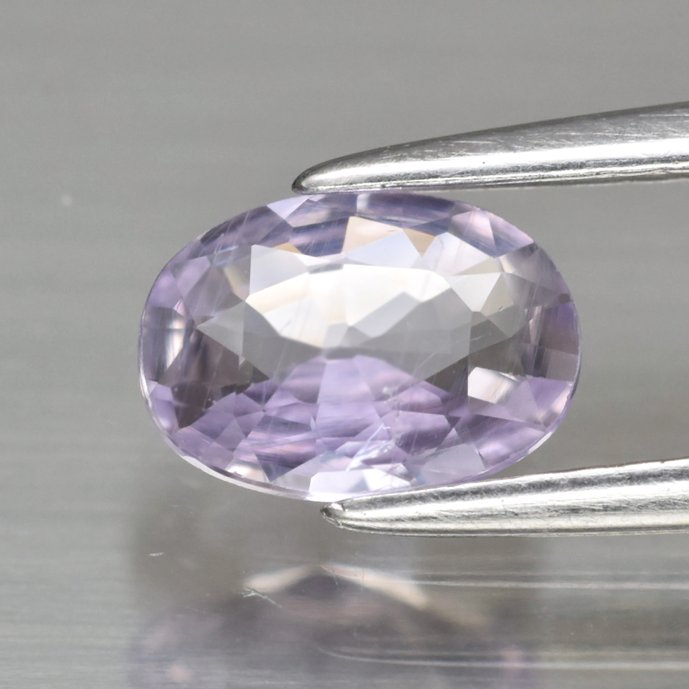 Genuine 100% Natural Purple Sapphire .82ct 7.0 x 5.0mm Oval SI1 Clarity