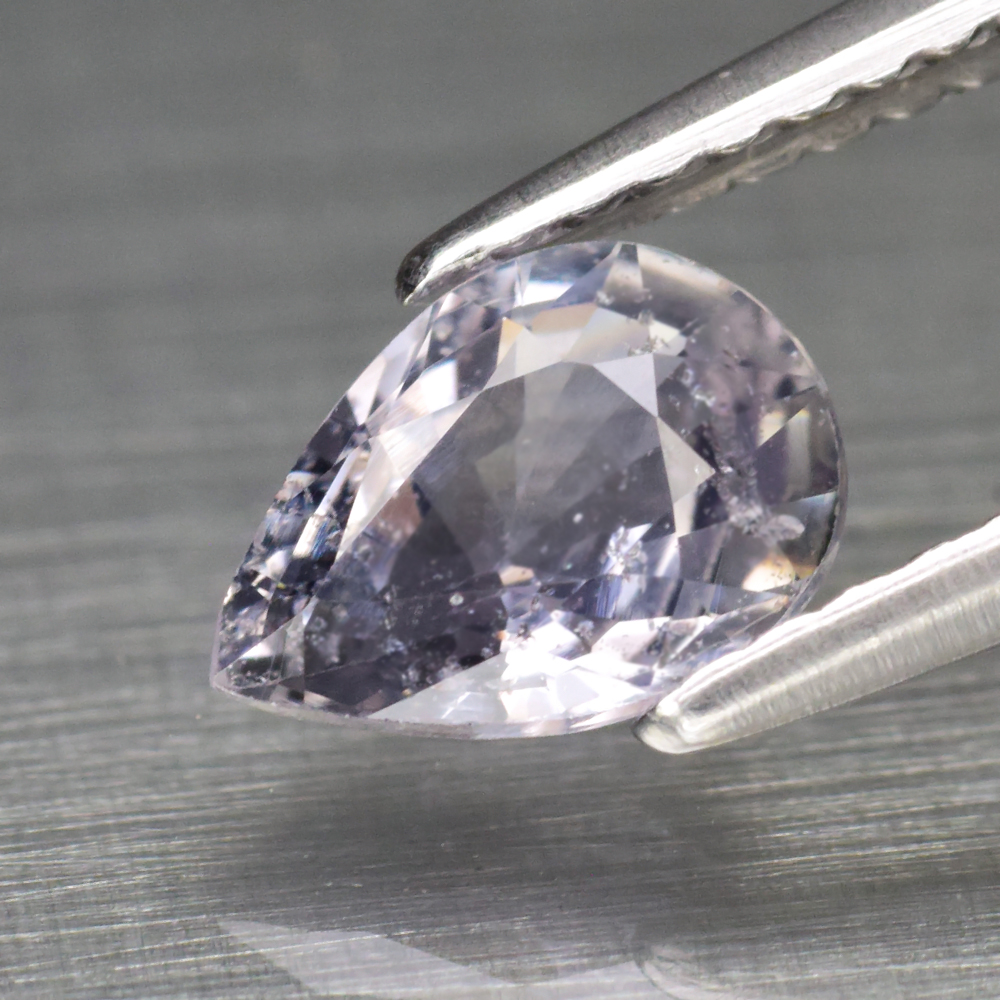 Genuine 100% Natural Purple Sapphire .92ct 7.2 x 5.2mm Pear SI1 Clarity