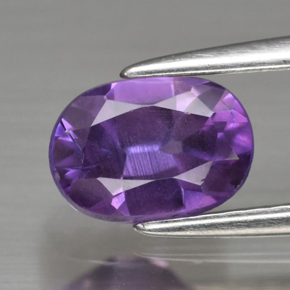 Genuine Purple Sapphire 1.02ct 7.0 x 5.0mm Oval SI1 Clarity