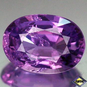 Genuine 100% Natural Purple Sapphire 1.05ct 7.2 x 5.2mm Oval SI Clarity