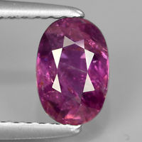 Genuine 100% Natural Purple Sapphire 1.18ct 7.2x4.8x3.5mm SI2 Madagascar
