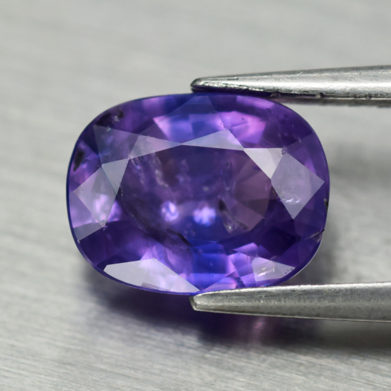 Genuine Purple Sapphire 1.20ct 7.2x5.5x3.1mm SI1 Madagascar