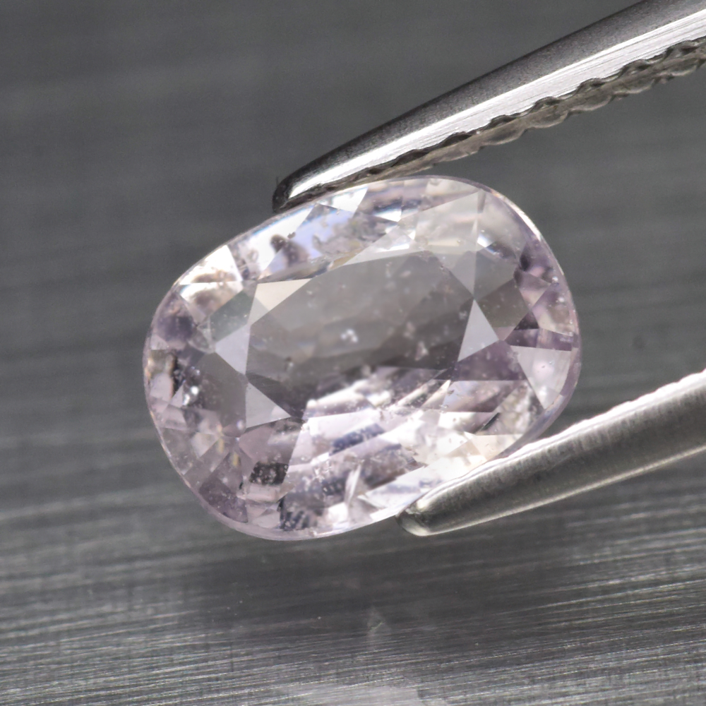 Genuine 100% Natural Purple Sapphire 1.29ct 7.8 x 6.0mm Cushion Cut SI1 Clarity