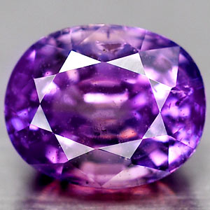Genuine 100% Natural PURPLE SAPPHIRE 1.33ct 6.6 x 5.4 x 4.3mm Oval