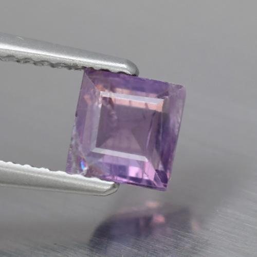 Genuine 100% Natural PURPLE SAPPHIRE SI1 1.45ct 5.3 x 5.0mm Square