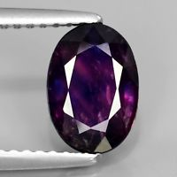 Genuine 100% Natural Purple Sapphire 1.87ct 8.5 x 6.0mm Oval