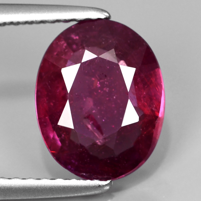 Genuine Purple Sapphire 2.19ct 9.7x7.7x3.2mm SI2 Madagascar