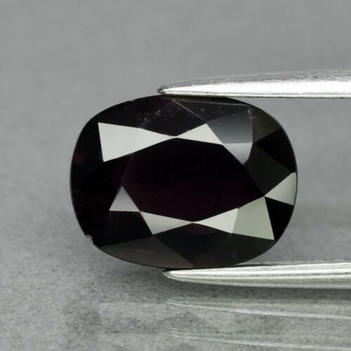 Genuine 100% Natural Purple Sapphire 2.62ct 9.5 x 7.3mm Cushion Cut SI1 Clarity