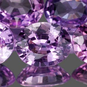 Genuine 100% Natural Purple Sapphires 0.42cts 5.0x4.0x2.2 VS1 Madagascar