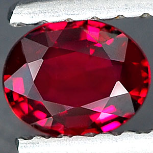 Genuine RED SAPPHIRE .38ct 5.0 x 4.0 x 2.0mm Oval
