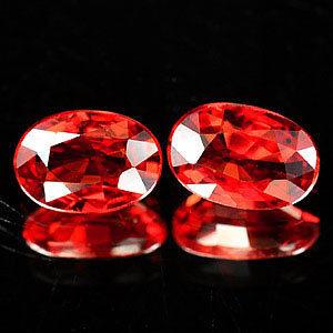 Genuine Red Sapphire 0.58ct 6.0 x 4.1 x 2.4mm Tanzania VVS