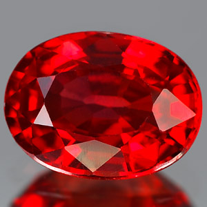Genuine RED SAPPHIRE 1.52ct 7.7 x 5.8 x 3.8mm Oval