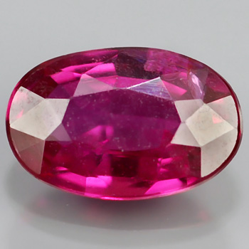 Genuine 100% Natural Ruby .36ct 5.4 x 3.5mm Oval SI1 Clarity