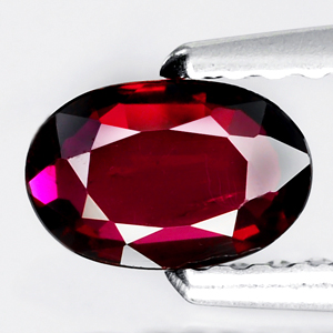 Genuine 100% Natural RUBY .41ct 6.0 x 4.0 x 1.5mm Oval