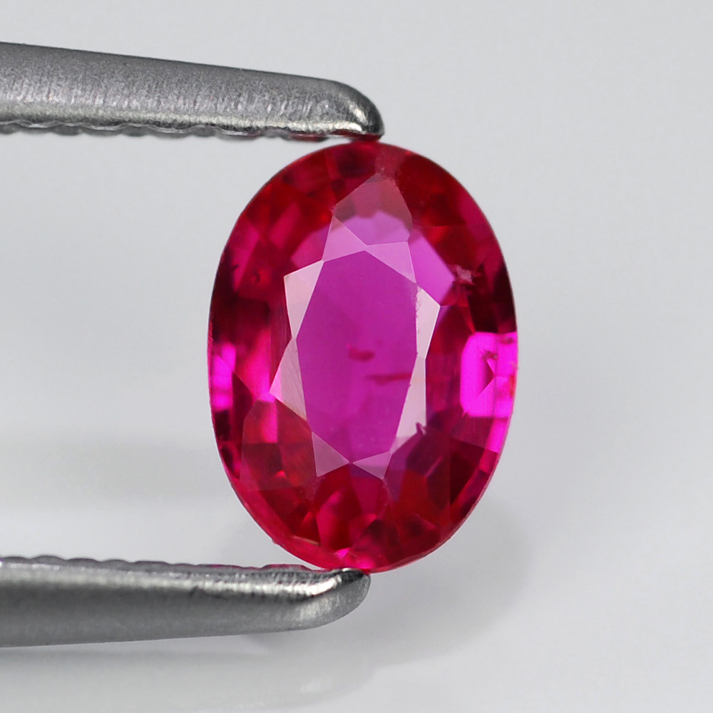 Genuine 100% Natural Ruby .44ct 5.5 x 4.0mm Oval SI1 Clarity